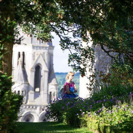 Parc du chateau de Vendôme © Laurence Mary